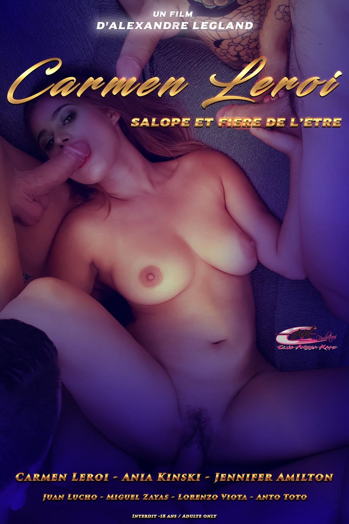 Carmen Leroi, a true slut, and proud of it!